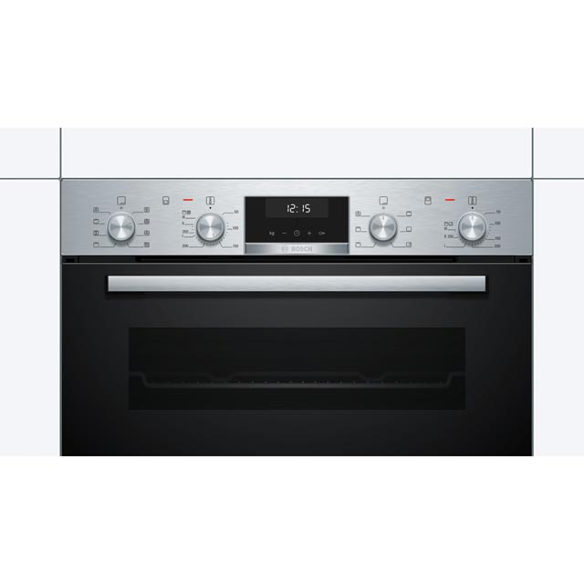 Bosch Serie 6 MBA5350S0B Built In Double Oven - Stainless Steel - MBA5350S0B_SS - 3
