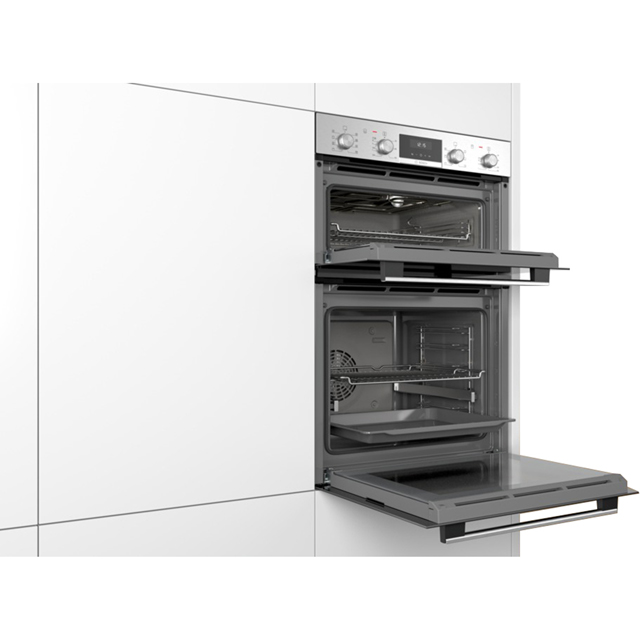 Bosch Serie 6 MBA5350S0B Built In Double Oven - Stainless Steel - MBA5350S0B_SS - 5