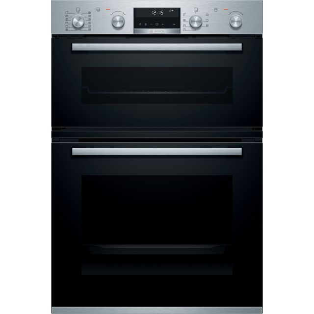 Bosch Serie 6 MBA5785S6B Built In Double Oven - Stainless Steel - MBA5785S6B_SS - 1