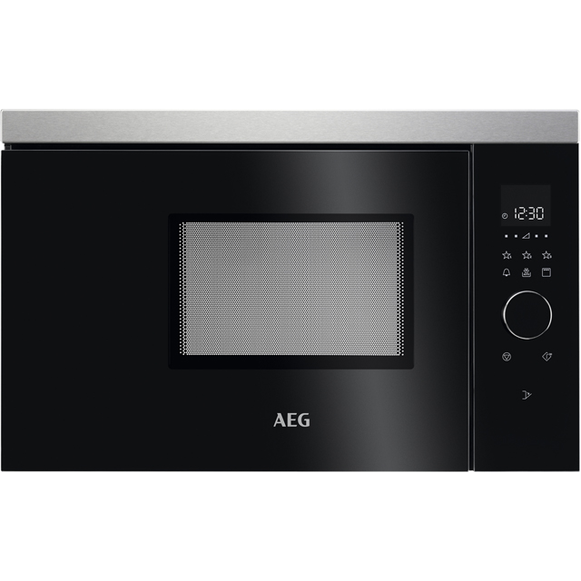 AEG MBB1756DEM Built In Microwave With Grill - Black - MBB1756DEM_BK - 1