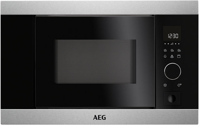 AEG MBB1756D-M Integrated Microwave Oven in Stainless Steel