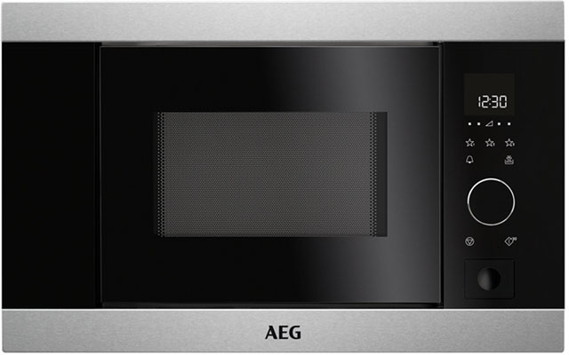 AEG Built In Microwave - Stainless Steel
