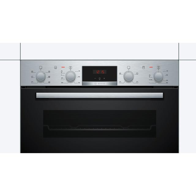 Bosch Serie 2 MBS133BR0B Built In Electric Double Oven - Stainless Steel - MBS133BR0B_SS - 3