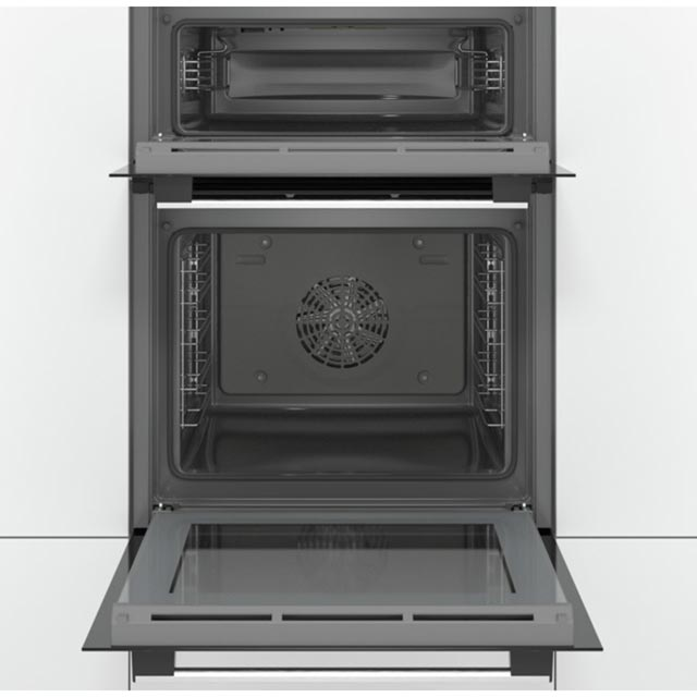 Bosch Serie 2 MBS133BR0B Built In Electric Double Oven - Stainless Steel - MBS133BR0B_SS - 4