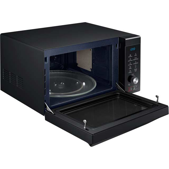 A how of oven repair to the microwave inside