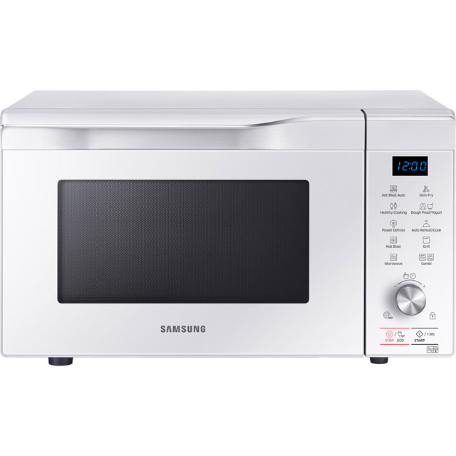 Samsung Hotblast Mc32k7055cw 32 Litre Combination Microwave Oven White