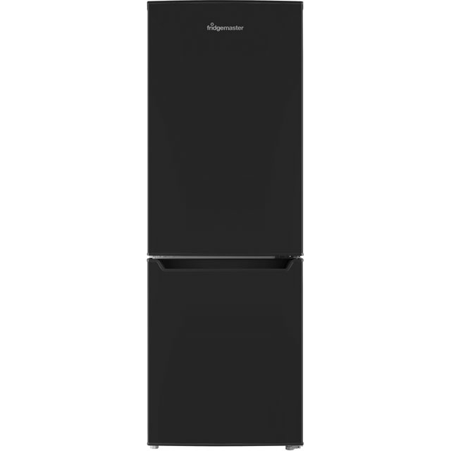 Fridgemaster MC50165B 60/40 Fridge Freezer - Black - A+ Rated