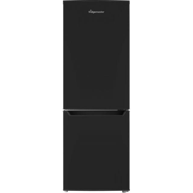 Fridgemaster MC50165B Free Standing Fridge Freezer in Black