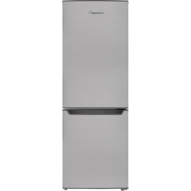 Fridgemaster MC50165S Free Standing Fridge Freezer in Silver