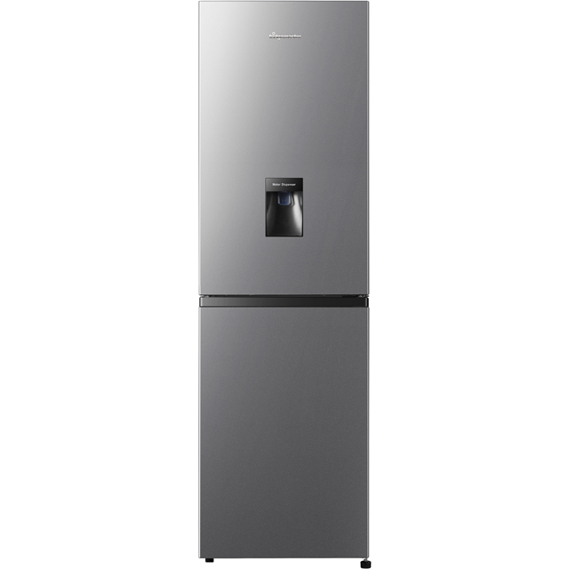 Fridgemaster MC55251MDS 50/50 Frost Free Fridge Freezer - Silver - A+ Rated Best Price, Cheapest Prices