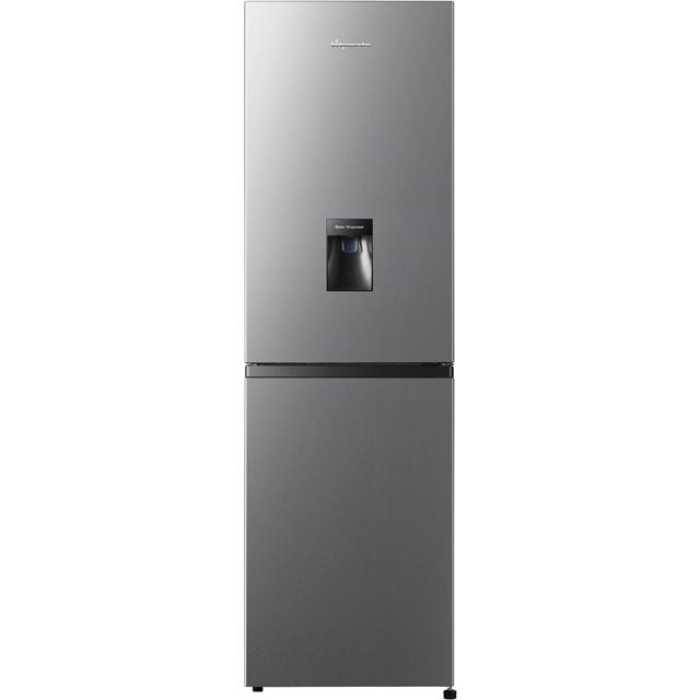 Fridgemaster MC55251MDS 50/50 Frost Free Fridge Freezer - Silver - A+ Rated