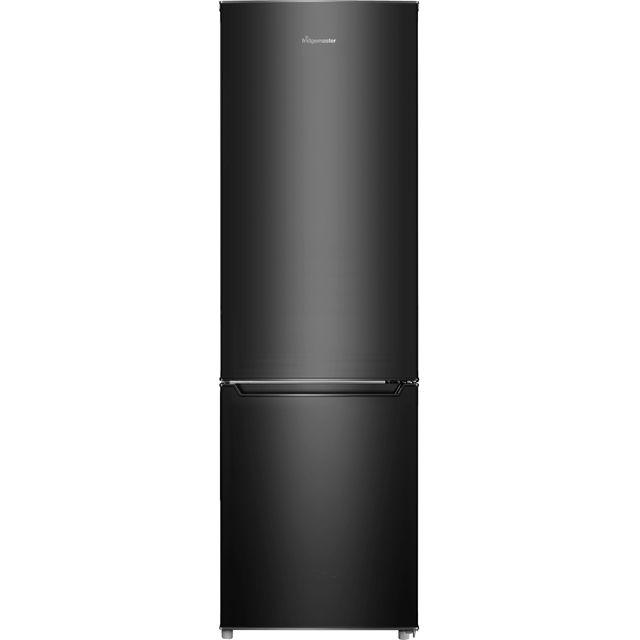 Fridgemaster MC55264AB Free Standing Fridge Freezer in Black