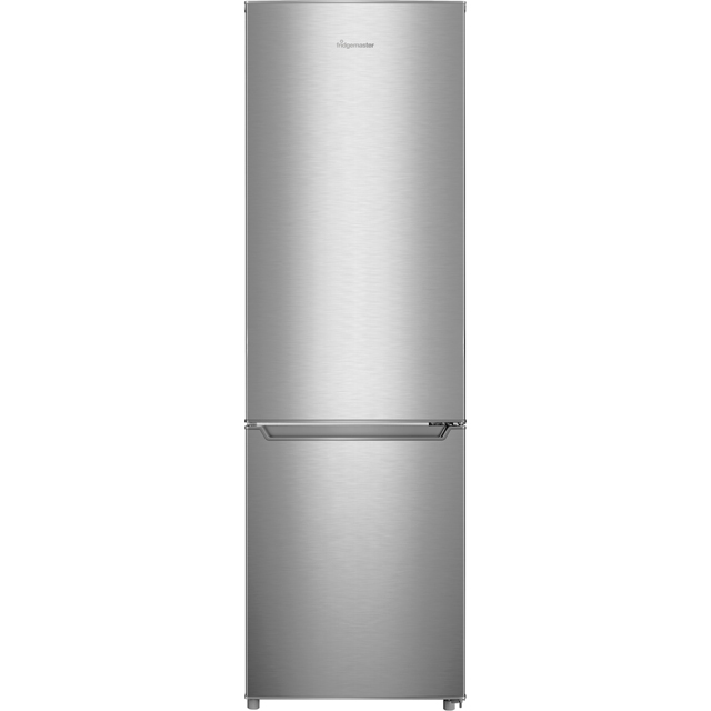 Fridgemaster MC55264AS 70/30 Fridge Freezer - Silver - A+ Rated