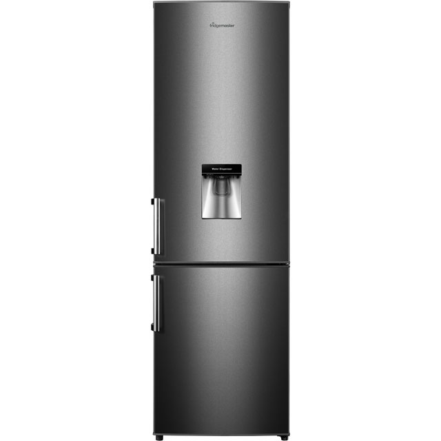 Fridgemaster MC55264DB 70/30 Fridge Freezer - Black - A+ Rated
