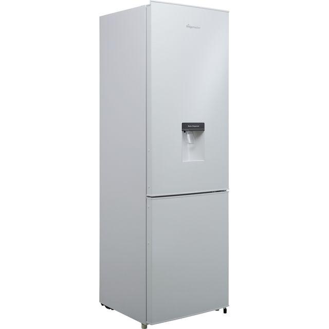 Fridgemaster MC55264DF 70/30 Fridge Freezer - White - F Rated