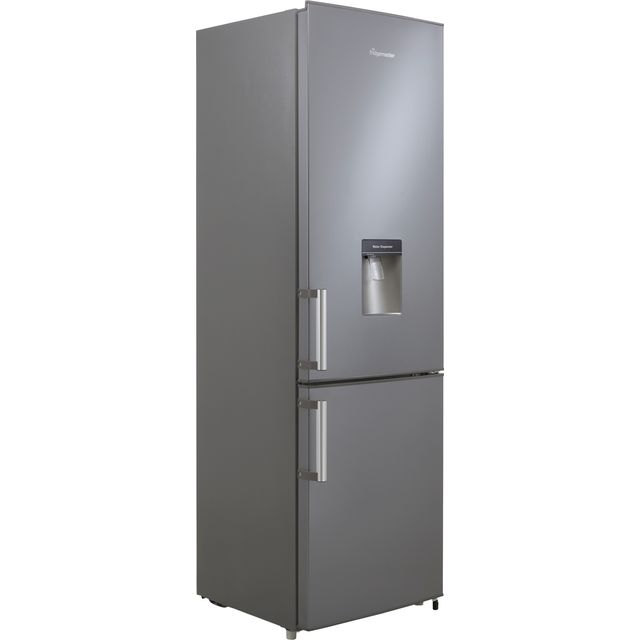 Fridgemaster MC55264DFS 70/30 Fridge Freezer - Silver - F Rated
