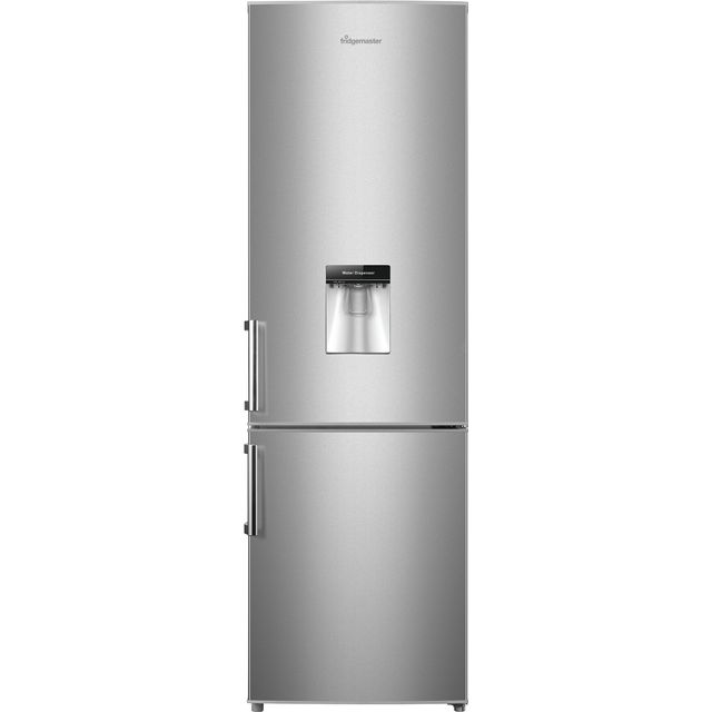 Image of Fridgemaster MC55264DFS 70/30 Fridge Freezer - Silver - A+ Rated