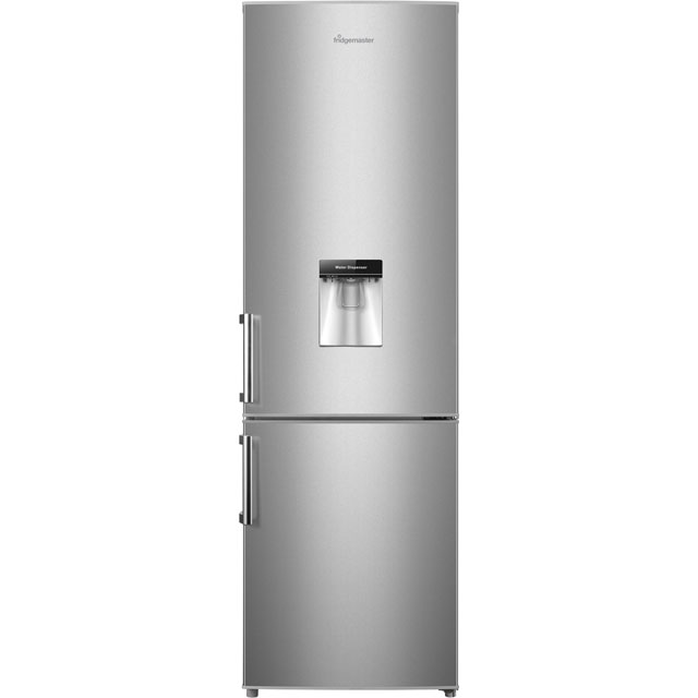 Fridgemaster 70/30 Fridge Freezer - Silver - A+ Rated