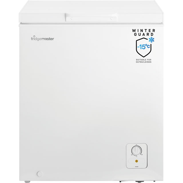 Fridgemaster MCF139 Chest Freezer - White - A+ Rated - MCF139_WH - 1