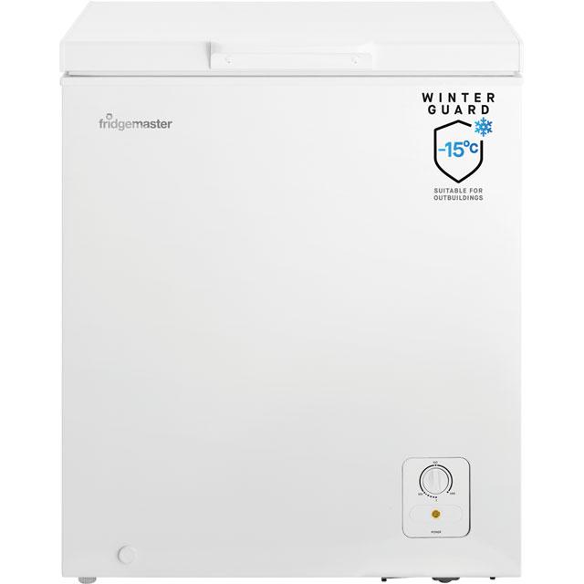 Fridgemaster MCF139 Chest Freezer - White - A+ Rated
