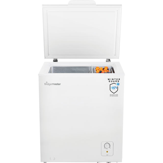 Fridgemaster MCF139 Chest Freezer - White - MCF139_WH - 2