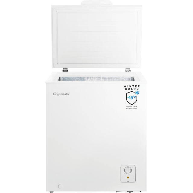Fridgemaster MCF139 Chest Freezer - White - MCF139_WH - 3