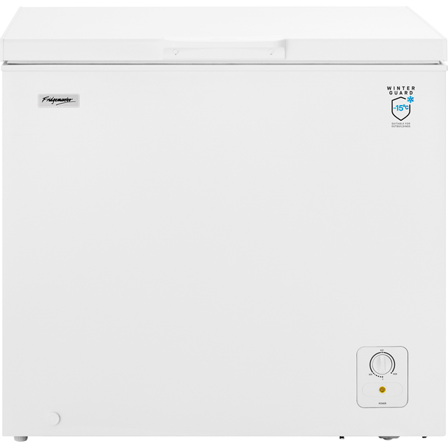 Fridgemaster MCF194 Free Standing Chest Freezer in White