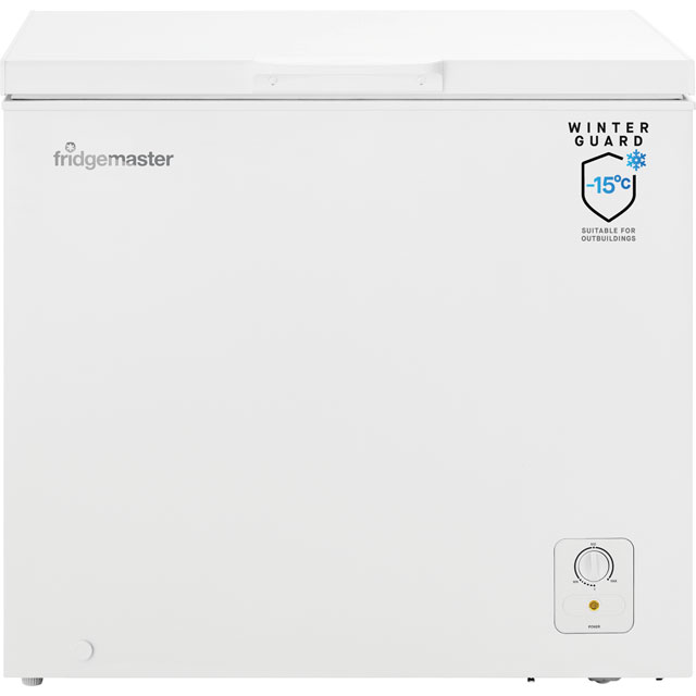 Fridgemaster MCF194 Chest Freezer - White - A+ Rated - MCF194_WH - 1