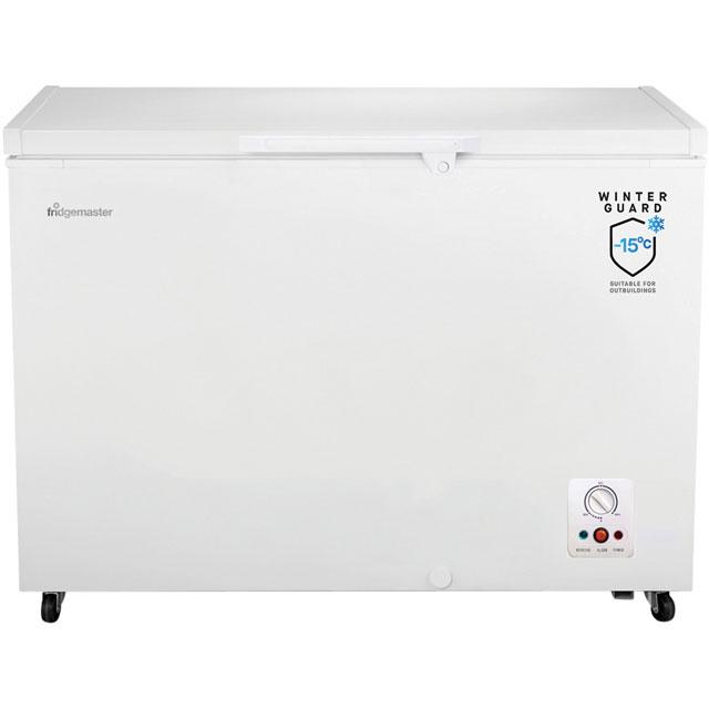 Fridgemaster MCF306 Chest Freezer - White - A+ Rated