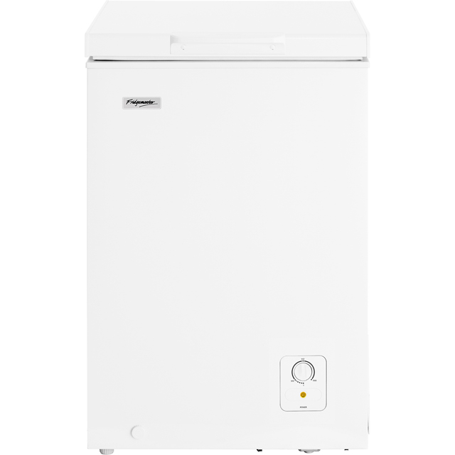 Fridgemaster MCF95 Free Standing Chest Freezer in White