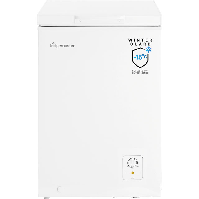 Fridgemaster MCF95 Chest Freezer - White - A+ Rated - MCF95_WH - 1