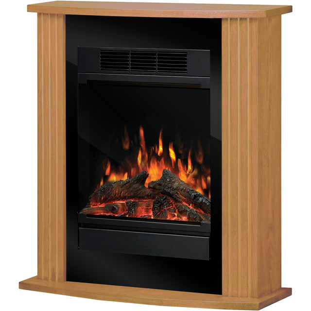 Dimplex Orvieto MCFP150-E Log Effect Suite And Surround Fireplace - Oak - MCFP150-E_OK - 1