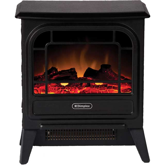 Dimplex Microstove MCFSTV12 Log Effect Electric Stove - Black - MCFSTV12_BK - 1