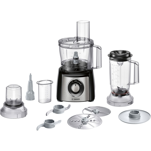 Bosch Compact 2.3 Litre Food Processor - Stainless Steel