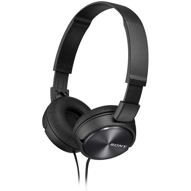 Sony MDR-ZX310 Over-Ear Headphones - Black - MDRZX310B.AE - 1