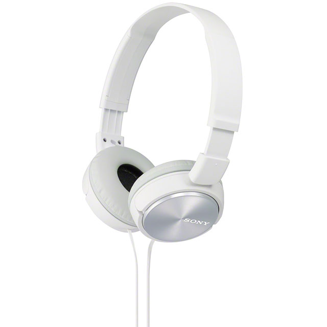 Sony MDR-ZX310 Over ear Headphones - White - MDRZX310W.AE - 1