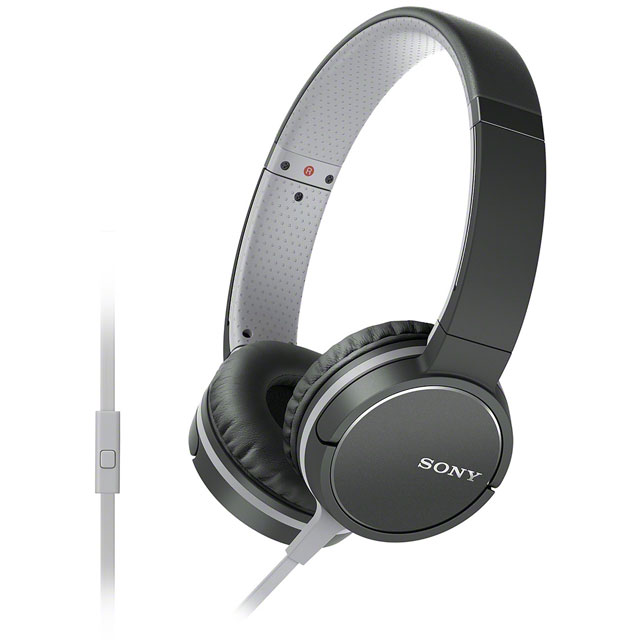 Sony MDRZX660AP On-Ear Headphones - Black