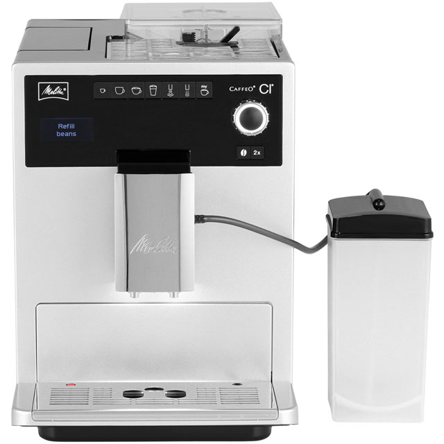 Melitta Caffeo CI 6581411 Bean to Cup Coffee Machine - Silver