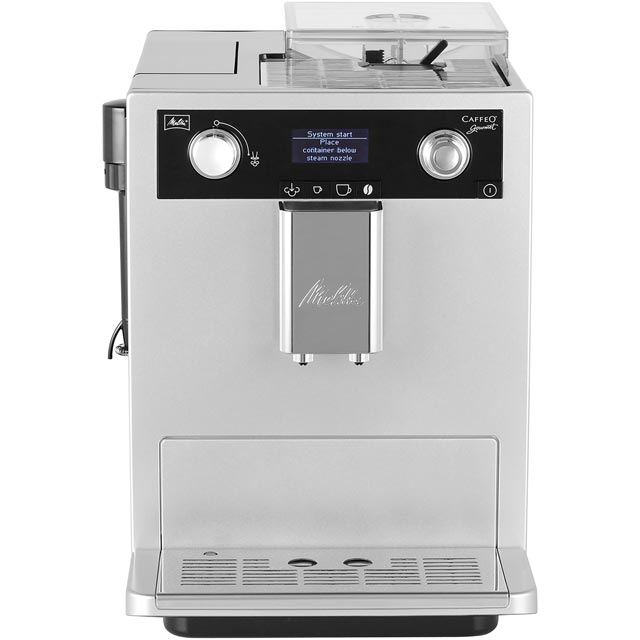 Melitta Caffeo Gourmet 6613297 Bean to Cup Coffee Machine - Silver - 6613297_SI - 1
