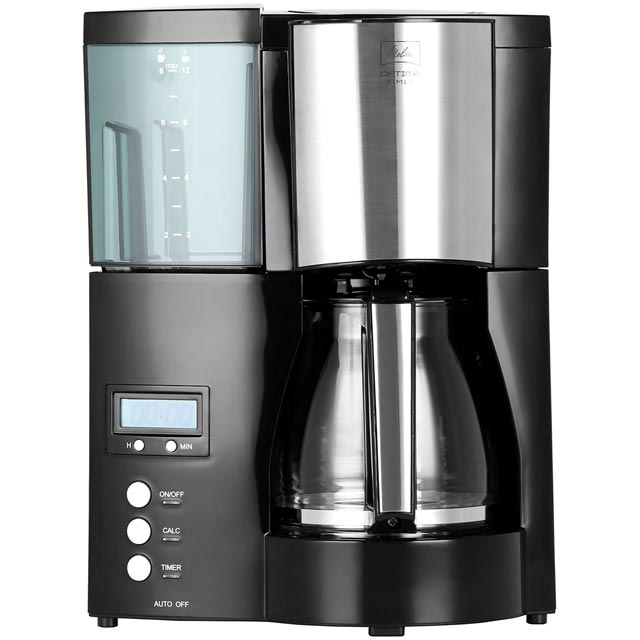 Melitta Optima Timer Filter Coffee Machine with Timer - Black