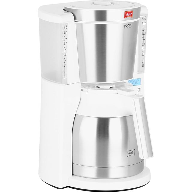 Melitta Look IV Therm Timer 6738037 Filter Coffee Machine with Timer - White - 6738037_WH - 1