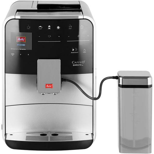 Melitta Caffeo Barista TS 6758349 Bean to Cup Coffee Machine - Silver - 6758349_SI - 1