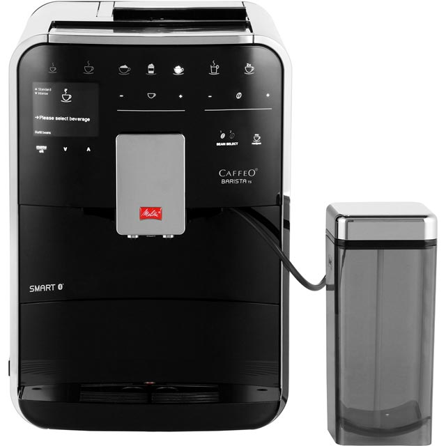 Melitta Barista TS Smart 6761415 Bean to Cup Coffee Machine - Black - 6761415_BK - 1