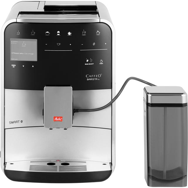 Melitta Barista TS Smart 6761416 Bean to Cup Coffee Machine - Silver - 6761416_SI - 1