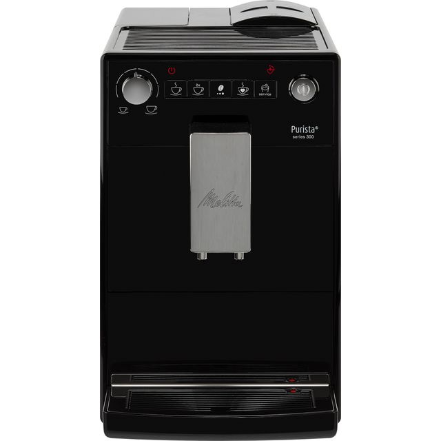Melitta Purista Black F230-102 6766034 Bean to Cup Coffee Machine - Black - 6766034_BK - 1