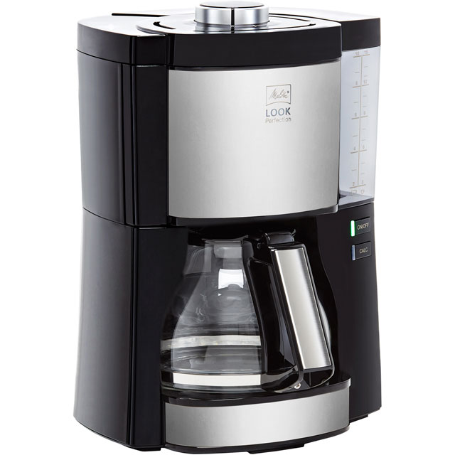 Melitta Look V Perfection Black 1025-06 6766589 Filter Coffee Machine - Black / Stainless Steel - 6766589_BS - 1