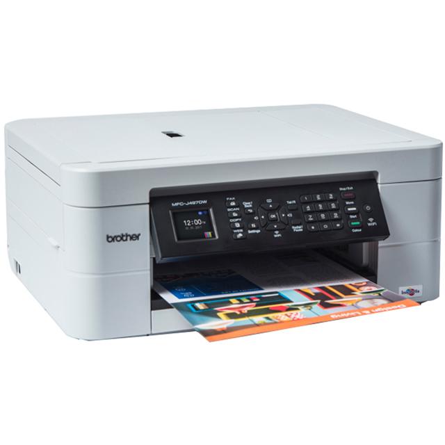 Brother MFC-J497DW Inkjet Printer - White
