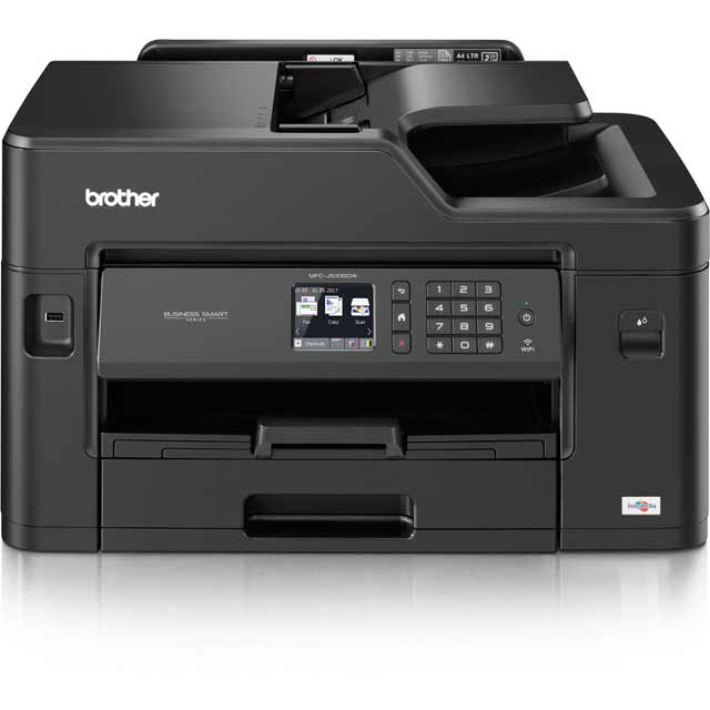 Brother MFCJ5335DW Inkjet All-In-One Inkjet Printer - Black - MFCJ5335DWZU1 - 1