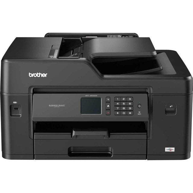 Brother MFC-J6530DW Inkjet All-In-One MFCJ6530DWZU1 Printer in Black
