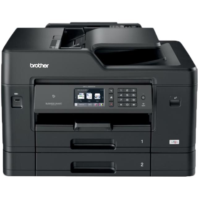 Image of Brother MFC-J6930DW A3 Inkjet Printer - Black